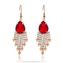 alibaba hot sale fashion jewelry crystal earring fashion earring stud earring