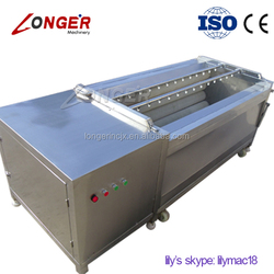Industrial 2015 New Type Brush Type Fruit and Vegetable Washing and Peeling Machine On Sale