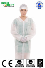 Good Quality Non woven White Chemistry Lab Coat