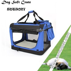 Portable Oxford Pet Dog Soft Crate