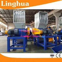 pp pe washing recycling line/waste bag recycling machine