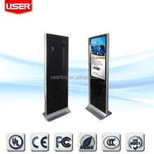 New product for conference rooms 46 inch full hd lcd floor standing media ad monitor tft wireless Lan