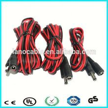 Manufacturer extension waterproof male to female power dc cable