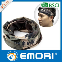 Low cost popular gift reusable magic microfiber headwear scarf