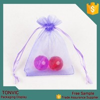 7*9 small organza wholesale gift bag pouch for candy 100pieces one bag