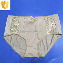 Fashion lace underwear for sexy women ladies nude panty plus size M-XL