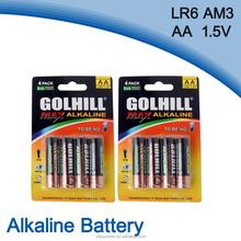 LR6 Size aa 1.5V dry batteries for ups