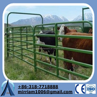 Anping Factory Galvanized Steel Horse Fence/Cattle Fence/Used Horse Fence Panels