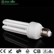 3U 15W lámpara fluorescente compacta para el mercado de América del Sur