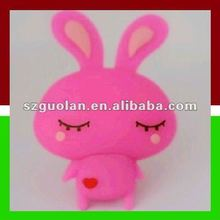 Creative Gift High Quality 256MB Cute Rabbit 2.0 USB Flash Drive Disk Blue/Gray/Green/Pink/White/Yellow For Your Choice