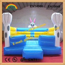 Inflatable jumper for kids/ indoor and outdoor inflatable rabbit bounce house