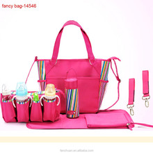 Tote Customized Brand Cheap Polyester Baby Diaper Bag