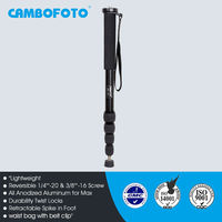 Photographers loved camera single leg tripod parts is high quality