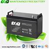 48v Solar power system 12V 120AH valve regulated battery