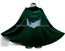 New Attack on Titan Shingeki No Kyojin Cloak Cape Cosplay Costumes