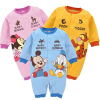 Newborn Boy Girl Clothes Cartoon super cute baby romper set