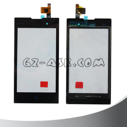 4inch For ZTE Kiss II Max v815w touch screen digitizer glass black color