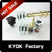 KYOK Nice design Metal Curtain Rod wholesale , fancy curtain rods in dubai