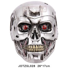 Wholesale Movie Mask The Terminator helmets mask Halloween Party Cosplay Resin Material Skull Mask