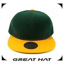 2015 small quantity accept unisex blank flat brim snapback hats wholesale