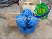 """API 10 1/2"""" rubber/metal sealed water well tci tricone bit 10 1/2'' rock drilling auger bits"""