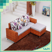 S.D modern popular multi-purpose rattan sofa
