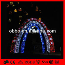 Wedding decoration/party decorative led arch shaped lighting