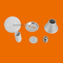 Top quantity Aluminum led light bulb parts 6W/9W/12W/15W AC85-265V CE ROHS 270degree
