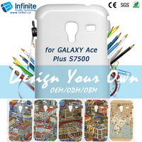 China Guangzhou Wholesale Free Samples Promotion Hard PC Mobile Phone Case For Galaxy Ace Plus S7500