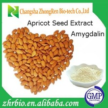 Low Price Pure Natural Amygdalin 98% Apricot Seed Extract vitamin Laetrile B17 powder