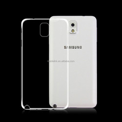 Ultra Thin Soft Silicon TPU Clear Phone Case For Samsung Galaxy note3