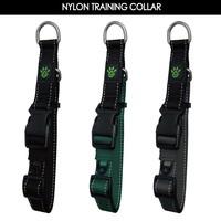 Reflective Stitching Nylon Collar for Dog Training