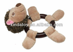 Plush hedgehog Pet toy hot sale