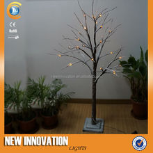 H130CM 30L Warm White LED Hot Sell Snowing Christmas Tree