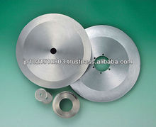 Circular knives fabrication heat treated and tensioned with good durability and flatness