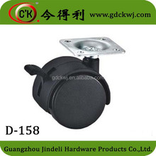 High Quality 45mm furniture casters wheels furniture caster fixed casters