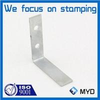 L shaped metal bracket as corner mounting part