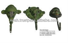 el diseño de bronce ganchos de tela