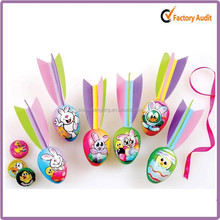 yiwu Colorful Printed delicate easter decoration 2014