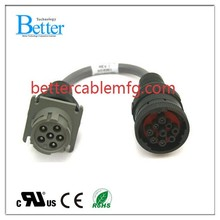 ODM/OEM Auto Diagnostic Cables 9pin to 6pin Deutsch Cable