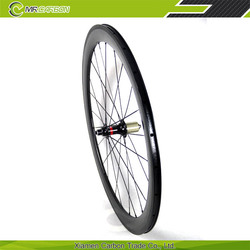 bicicletas carbono wheel 50c toray t700 carbon fiber wheelset roue velo route carbone novatec 291SB_SL front and F482SB_SL