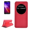 In Stock Litchi Texture Leather back cover for ASUS zenfone 2