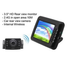 High definition Bus 3.5 inch Bus Wireless Rear View System Kit