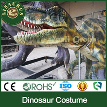 Lisaurus-E park shows for adult mechanical animatronic dinosaur