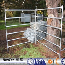 Anping Factory hot dipped galvanized Portable Horse Yards (ISO9001,Since 1989)