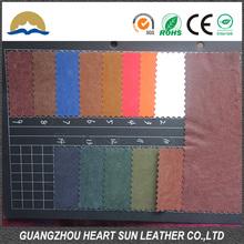 pu leather for garment pu garment leather fabric