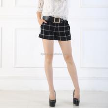 Súper ventas mujeres short pants basculador en precio barato de china excedente ladies Hot pants