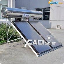 Houseld alta calidad de panel plano calentador de agua solar (300L)