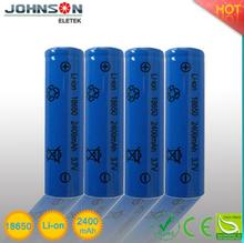 High capacity 3.7v 900mah li-ion battery