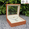 Promotional Recyclable luxury jewelry box standing mirror design certificated by ISO,BV,SGS,ex factory price